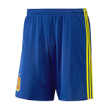 2016-2017 Spain Home Adidas Football Shorts (Kids)