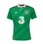 2016-2017 Ireland Home Umbro Football Shirt
