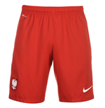 2016-2017 Poland Nike Home Shorts (Red)