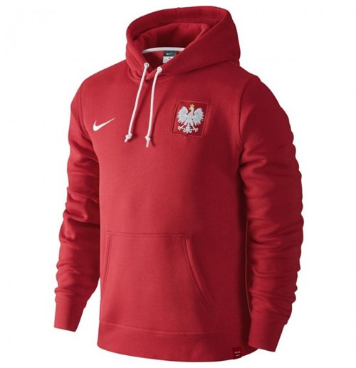 Reda Poland  city pictures gallery : ... Sports Football Poland Soccer 2016 2017 Poland Nike Core Hoody Red