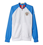 2016-2017 Russia Adidas Anthem Jacket (White)