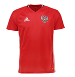 2016-2017 Russia Adidas Training Jersey (Red)