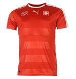 2016-2017 Switzerland Home Puma Football Shirt