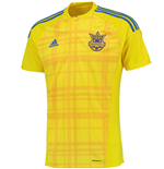 2016-2017 Ukraine Home Adidas Football Shirt
