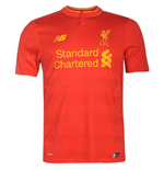 2016-2017 Liverpool Home Football Shirt