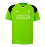 2016-2017 Liverpool Home Short Sleeve Goalkeeper Shirt (Green)