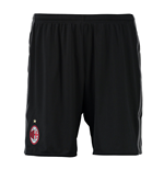 2016-2017 AC Milan Adidas Home Shorts (Black)