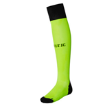 2016-2017 Celtic Home Goalkeeper Socks (Toxic)