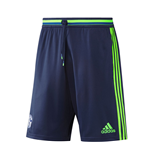 2016-2017 Schalke Adidas Training Shorts (Dark Blue)
