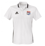 2016-2017 Olympique Lyon Adidas Polo Shirt (White)