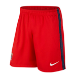 2016-2017 Norway Nike Home Shorts (Red)