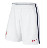 2016-2017 Norway Nike Away Shorts (White)