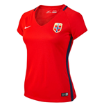 2016-2017 Norway Home Nike Womens Shirt