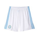 2016-2017 Marseille Adidas Home Shorts (White)