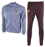 2015-2016 AS Roma Nike Knit Tracksuit (Ocean Fog) - Kids