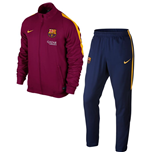 2015-2016 Barcelona Nike Woven Tracksuit (Dynamic Berry) - Kids