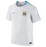 2015-2016 Man City Nike Flash Training Shirt (White) - Kids