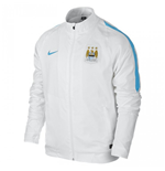 2015-2016 Man City Nike Woven Jacket (White)