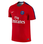 2015-2016 PSG Nike Pre-Match Training Shirt (Red)