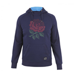 2016-2017 England Rugby OTH Hooded Top (Peacot)