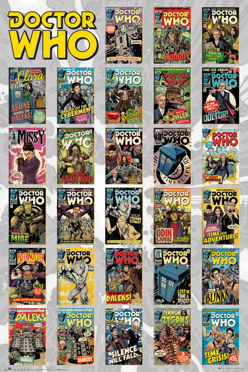 Doctor Who Comics Compilation Maxi Poster