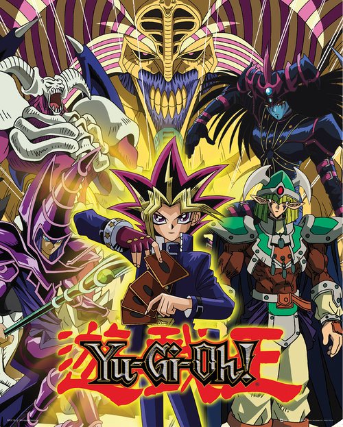 Yu Gi Oh! Yugi and Monsters Mini Poster