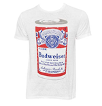 Men's BUDWEISER Big Can White T-Shirt
