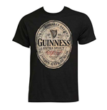 Men's GUINNESS Extra Stout Black T-Shirt