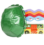 TMNT Shell Backpack With Party Wagon and Masks