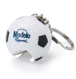 Modelo Soccer Ball Bottle Opener Keychain