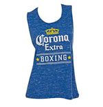 Women's Corona Blue Boxing Tank Top