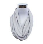 Grey Flask Scarf