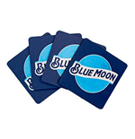 BLUE MOON Neoprene Coasters