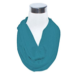 Aquamarine Flask Scarf