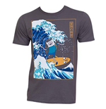 Men's ADVENTURE TIME Surfing The Great Wave Japanese T-Shirt