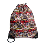 Batman Comic Strip Pump Bag