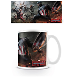 Captain America Civil War Mug Battle