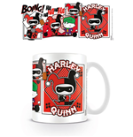 Justice League Mug Chibi Harley Quinn Comic