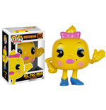 Pac-Man POP! Games Vinyl Figure Ms. Pac-Man 8 cm
