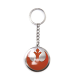 Star Wars Metal Key Ring Rebel Logo