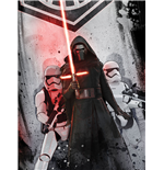 Star Wars Episode VII Fleece Blanket The Dark Side II 150 x 125 cm