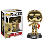 Star Wars Episode VII POP! Vinyl Bobble-Head C-3PO Gold Chromed 10 cm