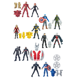 Avengers Miniverse Action Figures 6 cm 2-Packs 2016 Wave 2 Assortment (8)