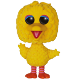 Sesame Street POP! TV Vinyl Figure Big Bird (Flocked) 15 cm