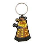 Doctor Who Rubber Keychain - Dalek Illustration