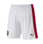 2016-2017 Arsenal Home Football Shorts (White)