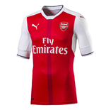 2016-2017 Arsenal Puma Home Authentic Football Shirt