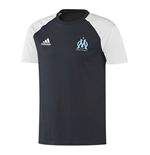 2016-2017 Marseille Adidas Training Tee (Night Navy)
