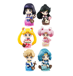 Sailor Moon Petit Chara Land Trading Figure 6 cm Ice Cream Party Assortment (6)