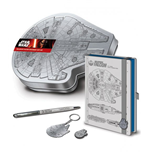 Star Wars Episode VII Premium Stationery Box Set Millennium Falcon